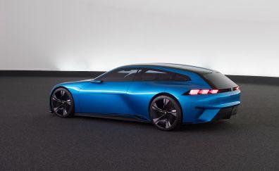 Peugeot instinct, concept, sports car, 4k