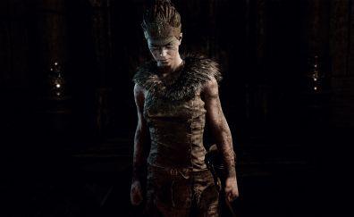 Senua, Hellblade: Senua's Sacrifice, video game, 4k