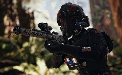 Star Wars Battlefront II, 2017 video game, soldier, Stormtrooper