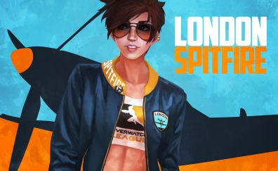 Tracer, overwatch, London spitfire