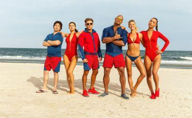 Baywatch 2017 casts