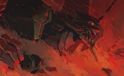 Neon Genesis Evangelion, anime art