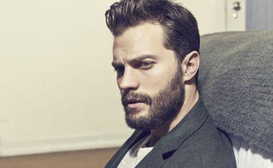 Irish actor, beard, jamie dornan