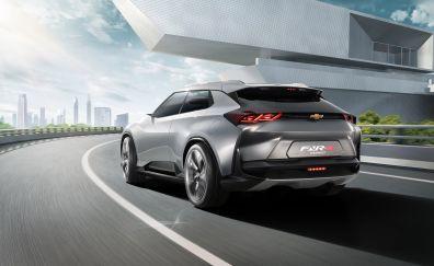 Chevrolet FNR-X Concept, 2017 car, rear view, 4k