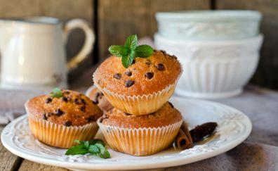 Muffins, backing, cake