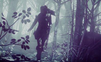 Lara croft, Rise of the Tomb Raider, 2015 game