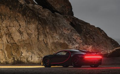 Bugatti chiron, fastest supercar, 4k