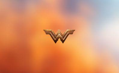 Wonder woman logo minimal