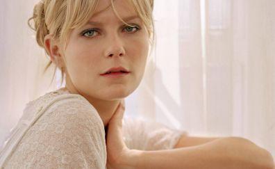Kirsten Dunst, face, celebrity, blonde
