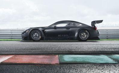 The Lexus RC F GT3, sports car, 2017 car