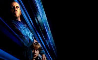 Mercury Rising 1998 movie, Bruce Willis, actor, dark