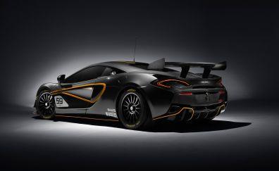 McLaren 570S, supercar sports car, side view