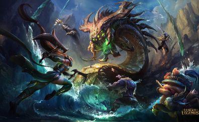 Dr. Mundo, Dragon, League of legends online game
