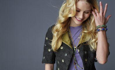 Emilie De Ravin, celebrity, smile, blonde
