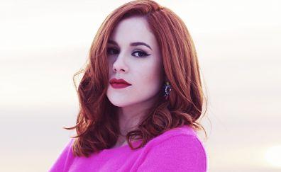Red head, celebrity, Katy B