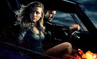 Nicolas Cage, Amber Heard, Drive Angry, 2011 movie