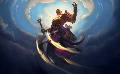 Warrior, video game, battlerite