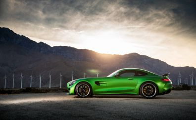 Mercedes-AMG GT R, side view, 4k