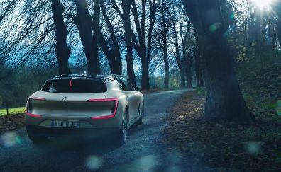 Renault SYMBIOZ Concept, concept car, rear view, 4k