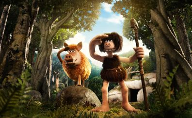 Early man, movie, 2018 movie, animation movie, 4k