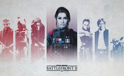 Star wars battlefront 2, video game, 2018