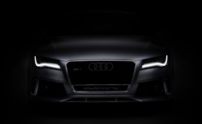 2017 Audi RS7 car, front view