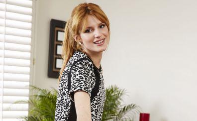 Bella Thorne, red head, celebrity, smile
