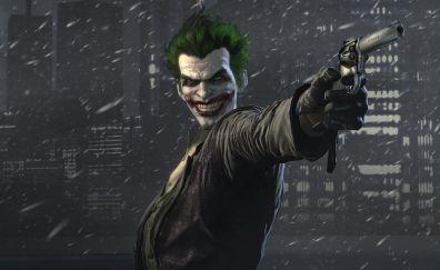 Video game, Batman: Arkham Origins, joker