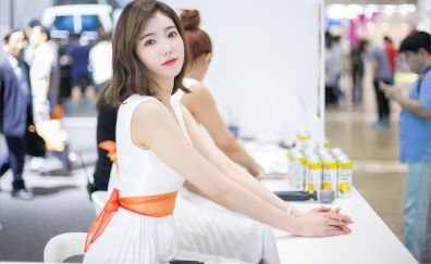Beautiful, Kim Bo-ra, model, actress, brunette