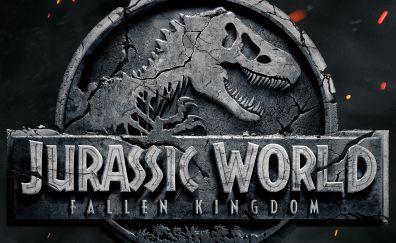Jurassic World: Fallen Kingdom, 2018 movie, poster