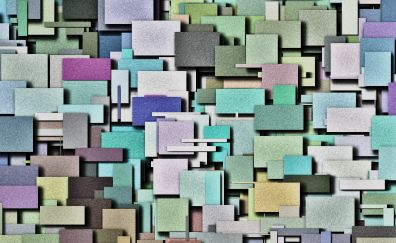 Pattern, squares, abstract