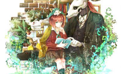 Elias ainsworth, chise hatori, anime, couple