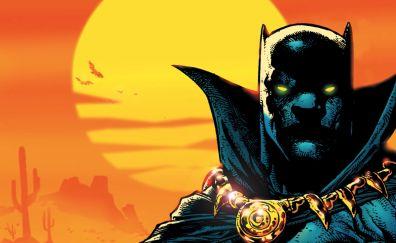 Black panther, marvel comics, superhero