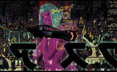 4k, blade runner 2049, movie, art
