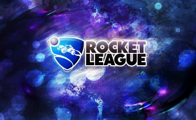 Rocket league, logo, video game