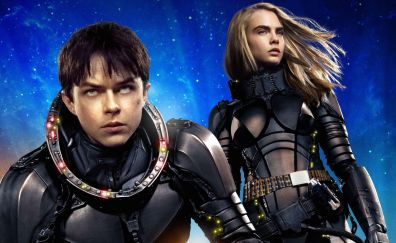 Valerian and the City of a Thousand Planets, 2017 movie, movie, Cara Delevingne, Dane DeHaan
