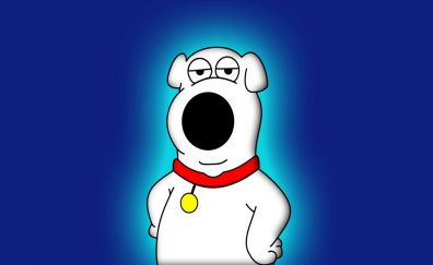 Dog, Family Guy, tv series, cartoon, minimal