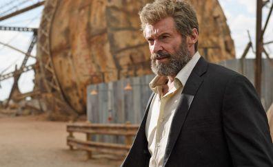 Logan, Hugh Jackman, beard