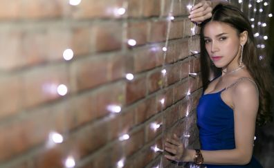 Lanchakorn yeunyaw, Asian model, brunette