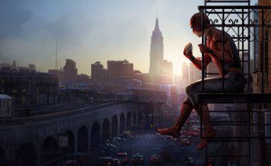 Spider-Man: Homecoming, spider man, movie, art