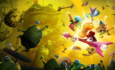 Still from Rayman video game