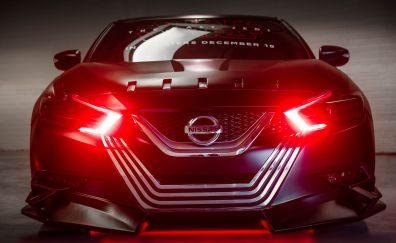 Nissan maxima, kylo ren, star wars: the last jedi, car, headlight, 4k