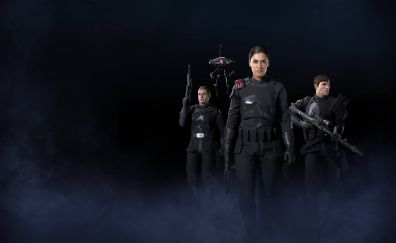Star Wars: Battlefront II, soldiers, inferno squad, video game