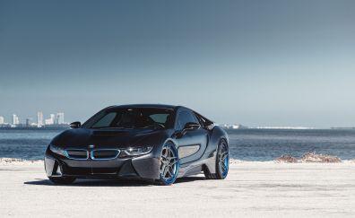 Bmw i8, luxury car, front, 5k