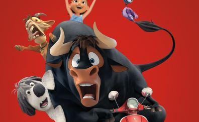 Ferdinand, best animated movie, 2017, bullock