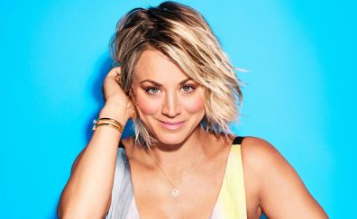 Kaley Cuoco, smile, actress, celebrity