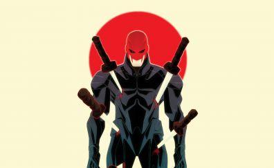 Marvel comics, shogun, katana