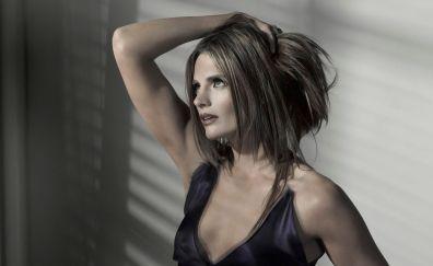 Stana Katic, actress, blonde