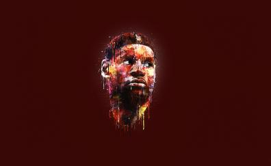 Mattia Iurlano basketball player artwork