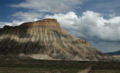 Mount Garfield, mountains, landscape, nature